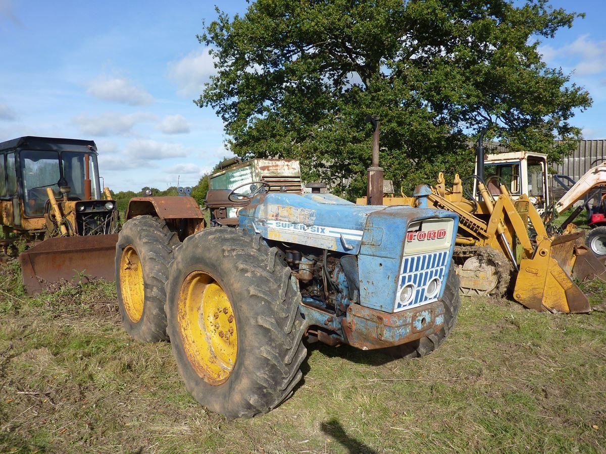 Tractors, Farm Machinery, Plant & Eq