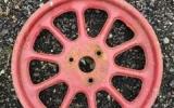 Lot 282-284 & 286 - Trolley Wheels (2)