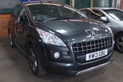Lot 1503 (1) - 2013 Peugeot 3008 Allure HDI, 5 door hatchback, 1560cc, diesel, manual, MOT expires 30th June 2017, 36,953 miles, V5 & keys available, registration no. KW13 GBU