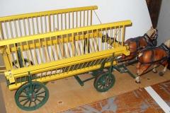 Lot 365 - Wagon & horses