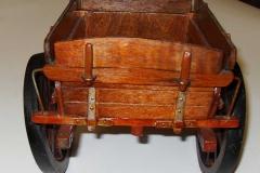Lot 369 - Model of Wooden cart (2)