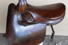 Lot 262 - Small side saddle