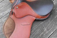 Lot 267 - Miniature saddle