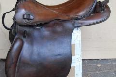Lot 270 - German saddle