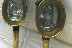Lot 298 - Carriage lamps