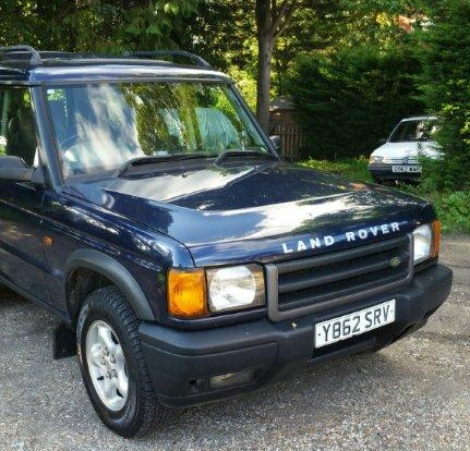 2001 Land Rover Discovery TD5 GS, 2495cc, diesel, manual, blue, MOT expires 28th March 2018, 136,628 miles,