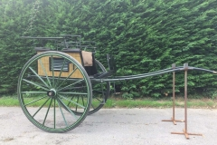 Lot 27 - Sporting Dog Cart