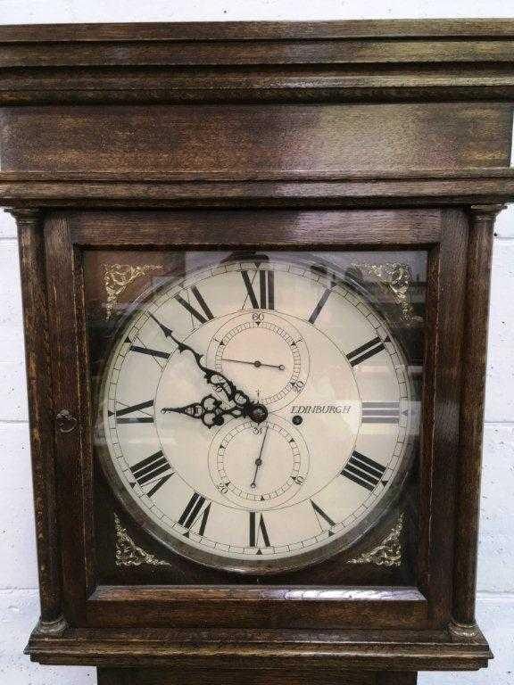 Longcase clock by James Whitelaw