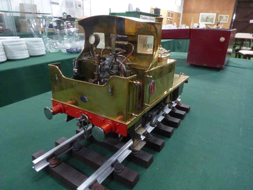 Lot 544 - Tich model steam engine