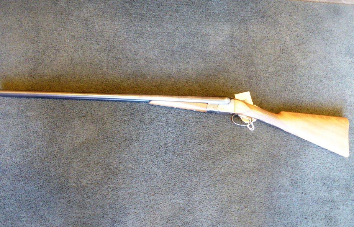 BSA side by side 12 bore shotgun (1)