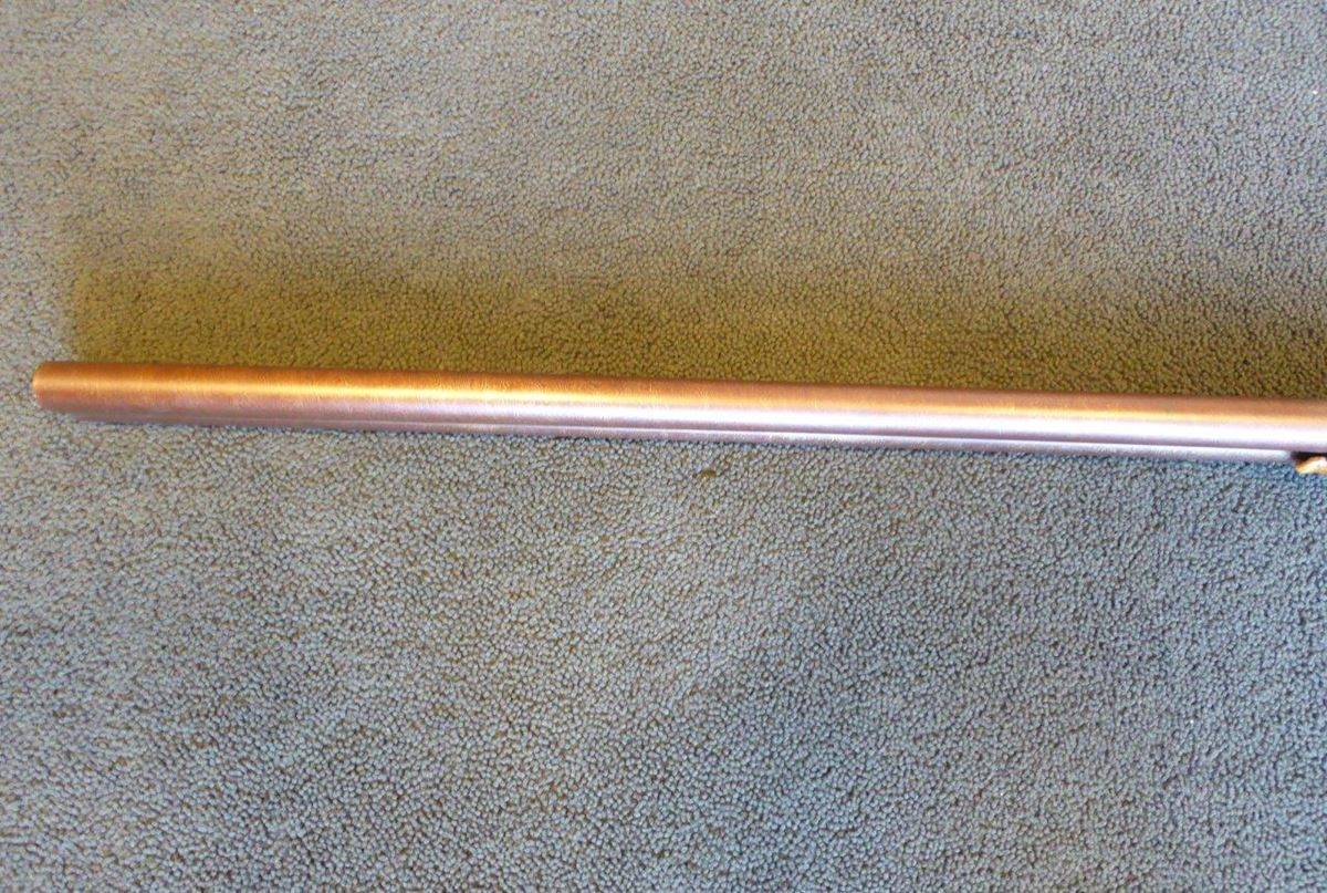 Dougal side by side 12 bore shotgun with Damascus barrels (3)