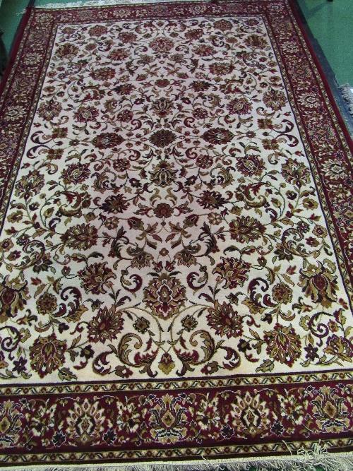 Lot 157 - Lister Scimitar 100% wool carpet, 300cms x 200cms