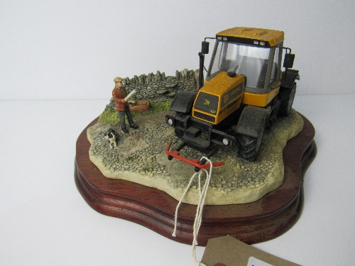 Lot 313 - Border Fine Arts 'Frontiers of Farming' limited edition 16 of 1000, model B0273 with certificate