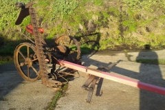 Lot 1 -  MASSEY HARRIS NO.33 HORSE-DRAWN MOWER, has been used regularly, with a new pole fitted a few years ago