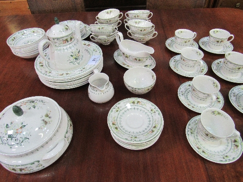 Lot 61 - Royal Doulton 'Provençal' dinner & tea service (8 settings)