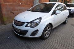 Lot 1501 (2) - 2012 Vauxhall Corsa SXI AC, 3 door hatchback