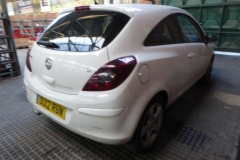 Lot 1501 (4) - 2012 Vauxhall Corsa SXI AC, 3 door hatchback