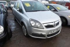 Lot 1507 - 2007 Vauxhall Zafira
