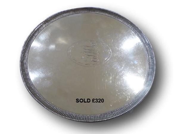 Silver platter