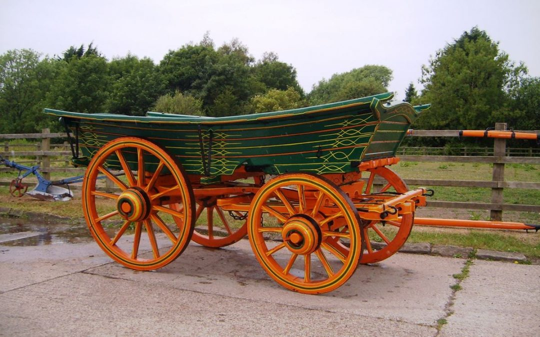 For Sale by Private Treaty – Three Farm Wagons and a Dray