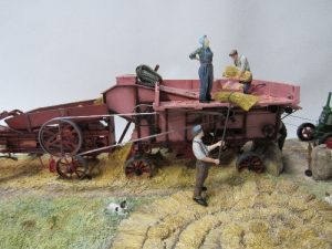 Lot 520 - Border Fine Art Threshing Mill, limited edition 42 of 600 B0361