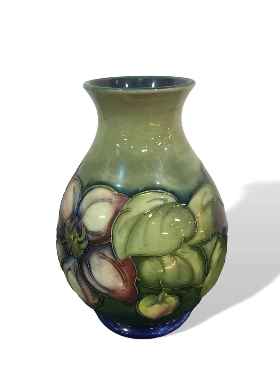 Lot 494 - Moorcroft vase to be sold on Saturday 26th October