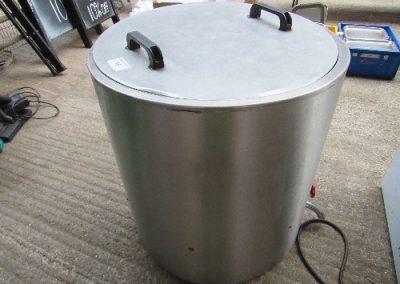 Lot 15 - CP Rose Eng. Co Ltd stainless steel ham boiler