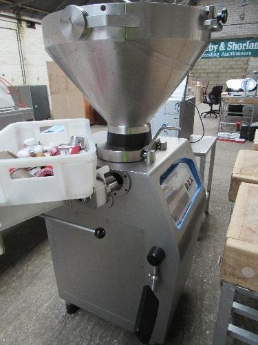 Lot 28 - Rex RVF327 sausage maker